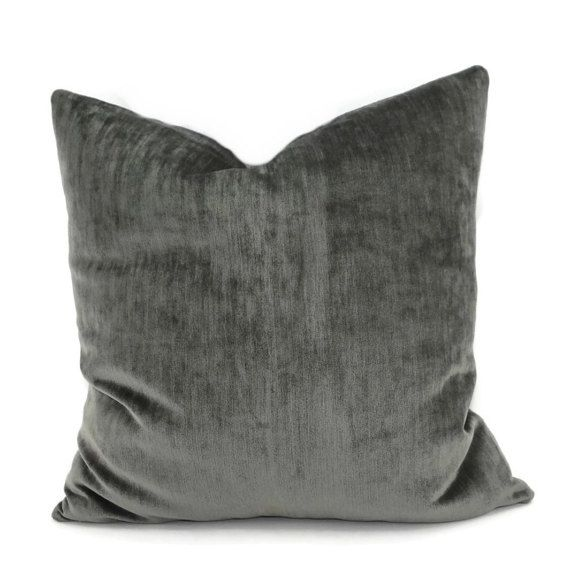 up design from item on velvet no home in gray stuffing smoky piping cover without garden cushion soft case pillow balling