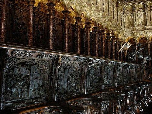 Sillería Del Coro De La Catedral De Toledo Comentada En Otra Foto Catedral Toledo Coro