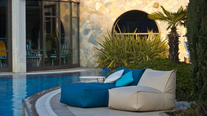 MOONICH Lounge Outdoor Sessel Und  Liege Am Pool