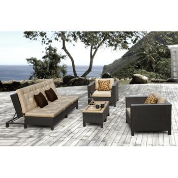 Costco: Euro Lounger Patio Set By Sirio™