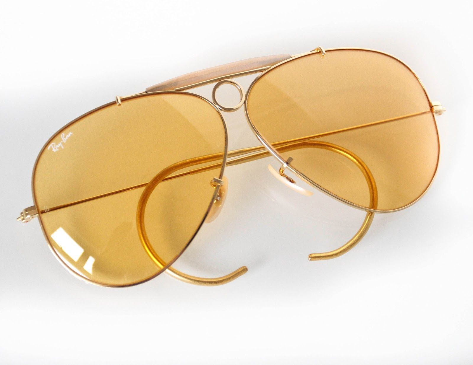 ray ban aviator sunglasses yellow  17 best ideas about ray ban shooter on pinterest
