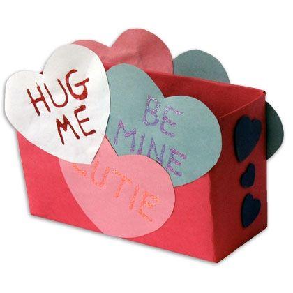 17 Best images about Valentine Mailbox Ideas – Valentine Card Box