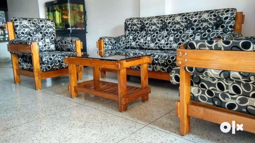 Teak Wood Sofa Set At Throw Away Price Dining In 2020 Furniture Sofa Set Sofa Set Wooden Sofa Designs