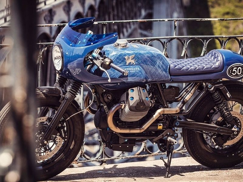 🏁 Moto Guzzi V7 CafeRacer by