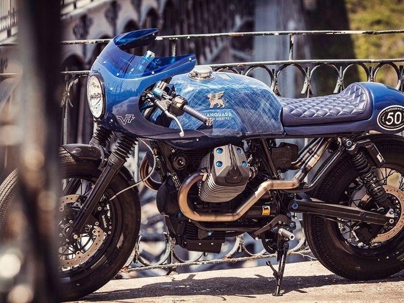 Vanguard Clothing Win a Moto Guzzi with The NEW V7 Rider