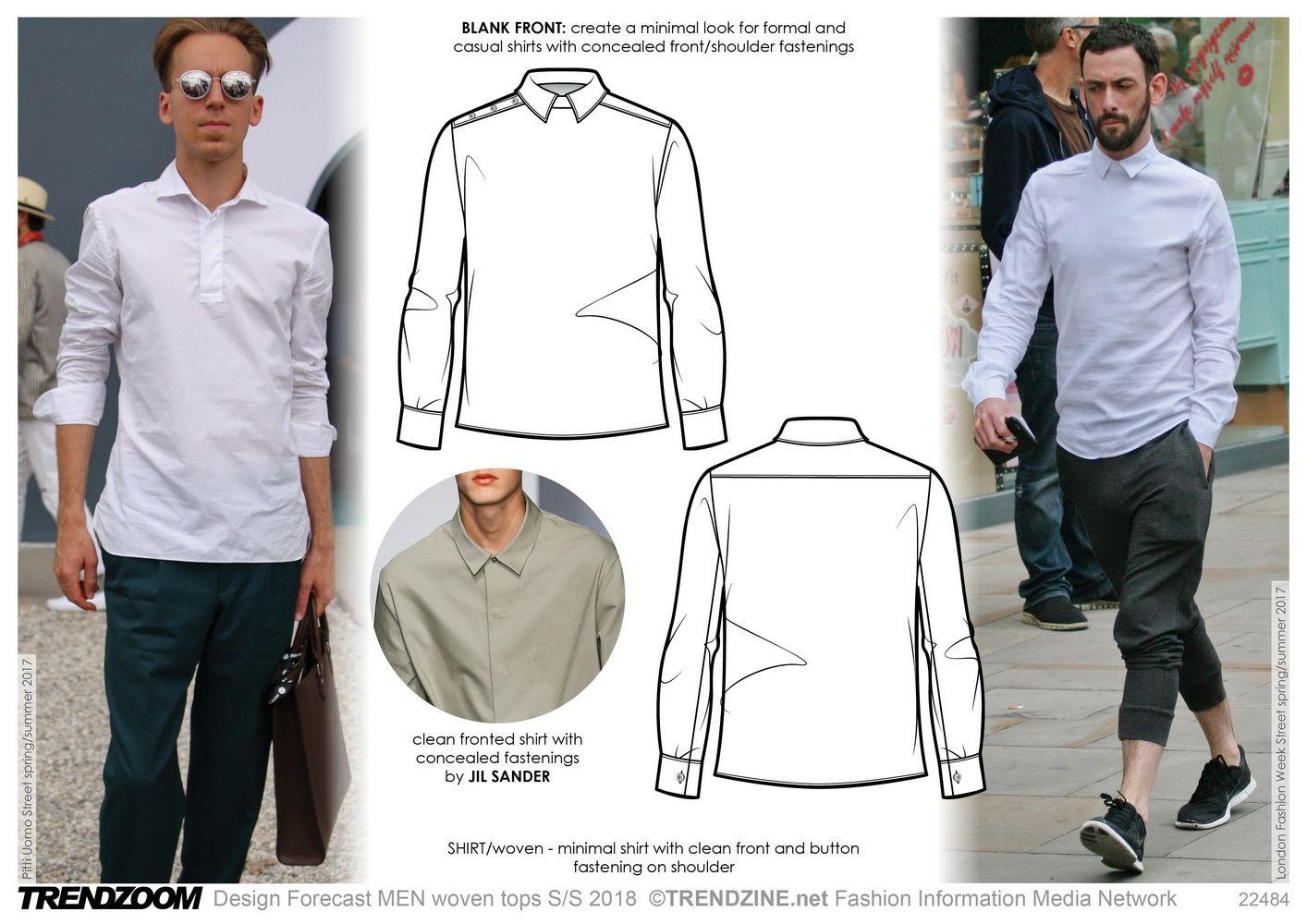Risultati immagini per ss18/19 trends for mens shirt | trend ...