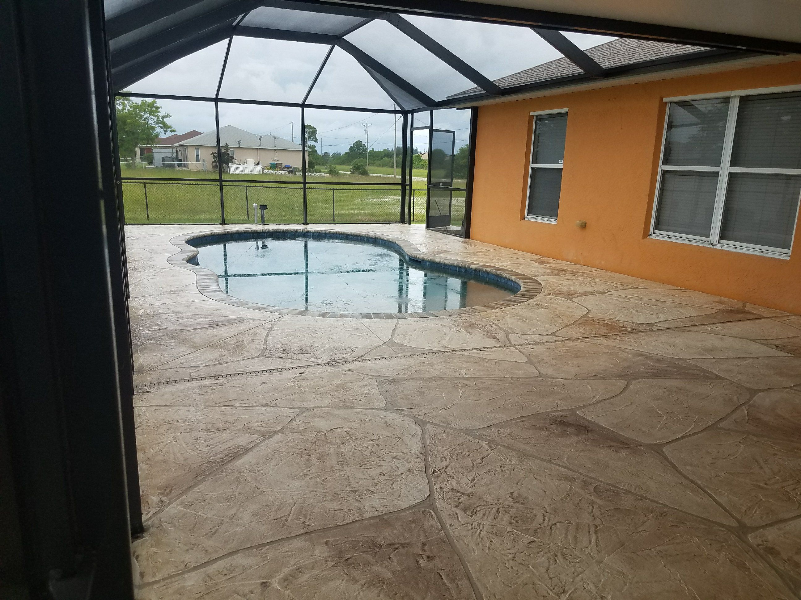 Concrete Pool Decks In Ft Myers Cape Coral Fl Http Msdcurbing