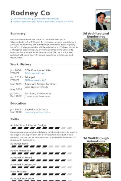 architecture resume format principal architect resume samples visualcv resume samples database sampleresume freeresume