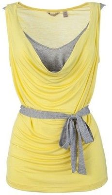 grey + yellow, looks great together