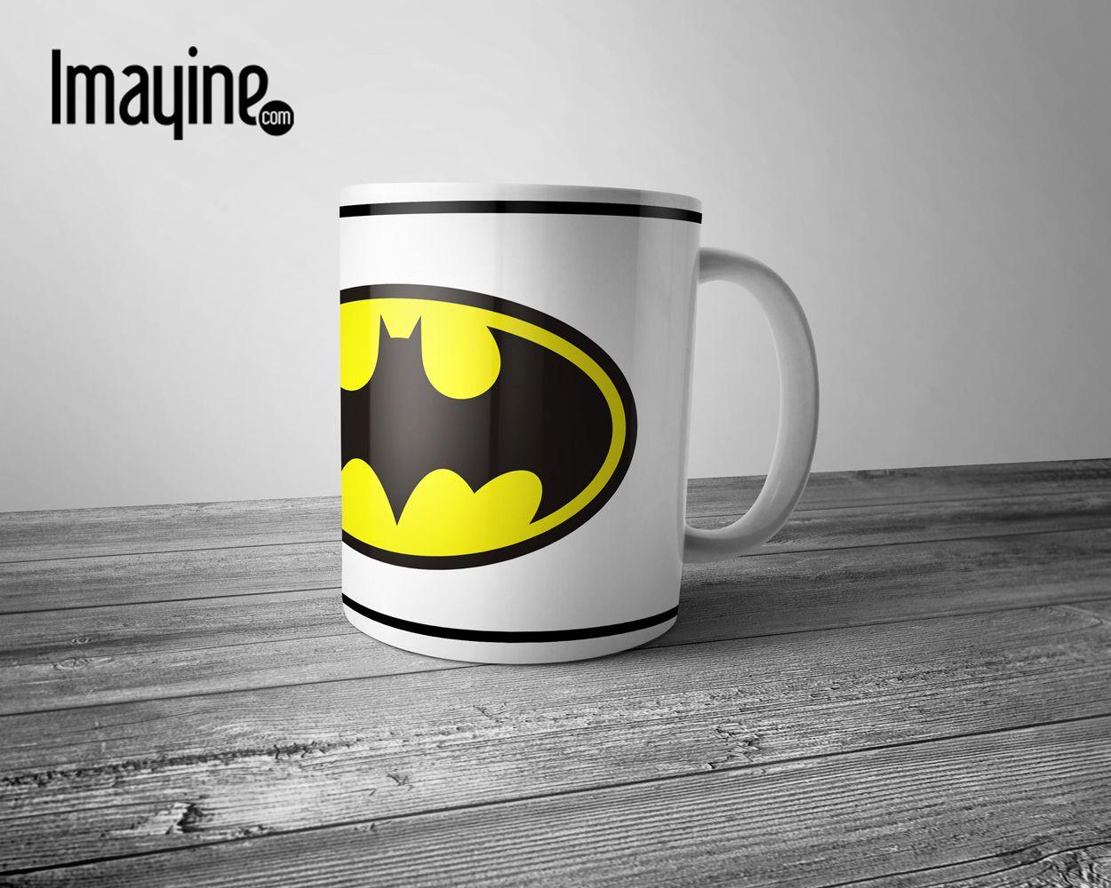 Taza Batman Tazas Personalizadas Custom Mugs Pinterest  ~ Tazas Para Infusiones El Corte Ingles