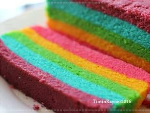 Steamed Rainbow Cake Ny Liem Resep Dengan Gambar Kue Pelangi