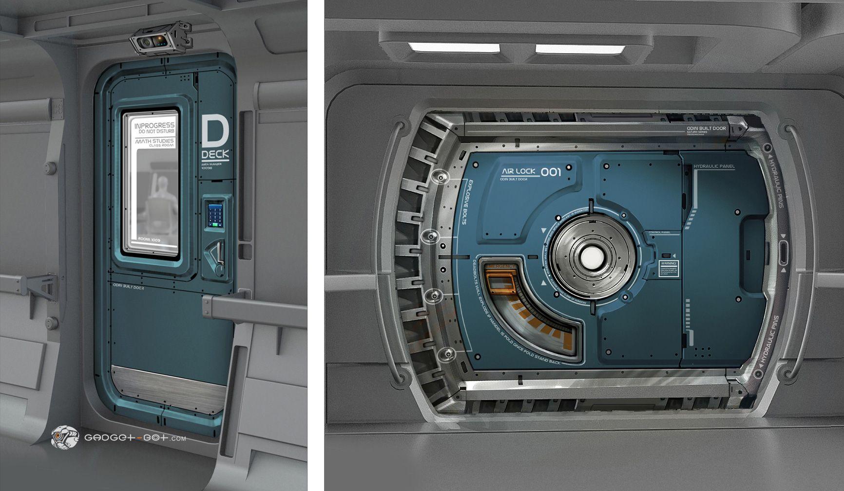 Enders Game Concept Art Gb11 Doors Jpg 1732 1009 Game Concept Art Concept Art