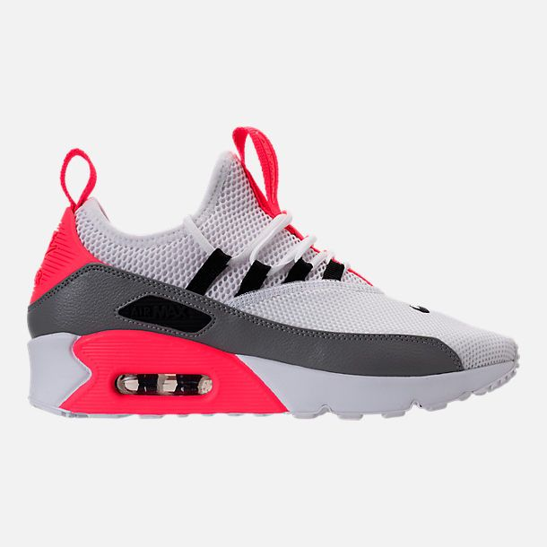 8005fafbaa198 Right view of Women s Nike Air Max 90 Ultra 2.0 Ease Casual Shoes in White  Dust Solar Red Black