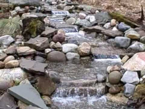Superieur Pond Waterfall And Stream Project In New Jersey USA