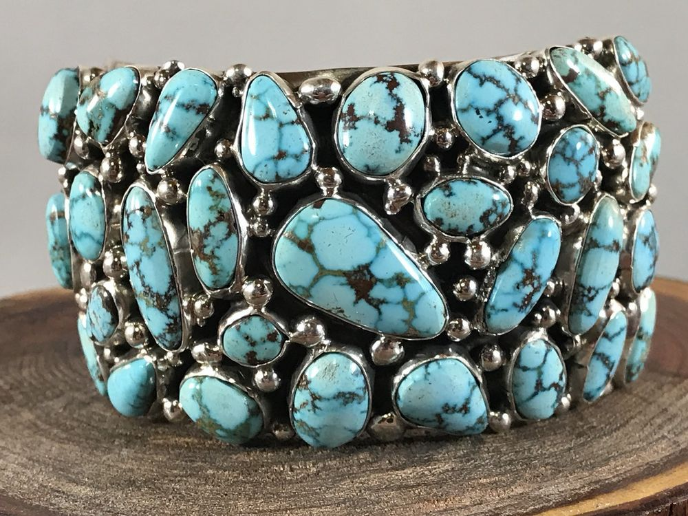 mine bracelet women for navajo by turquoise bracelets american yazzie native evans