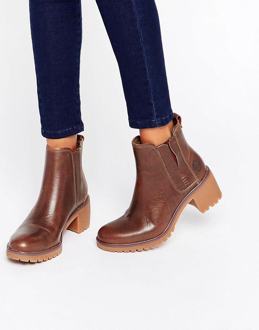 Timberland – Averly – Chelsea Stiefel aus Leder | prague