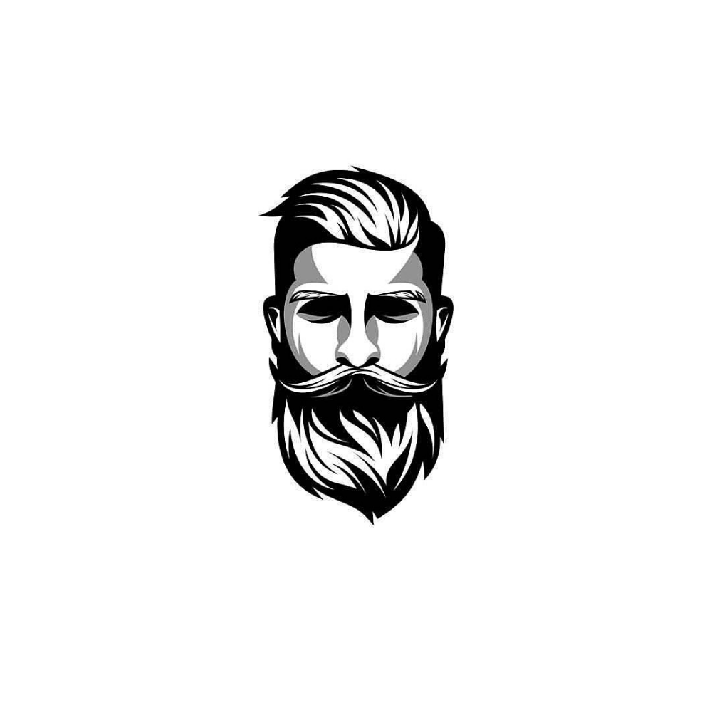 A Daily Source For Logo Design Inspiration Beard logo