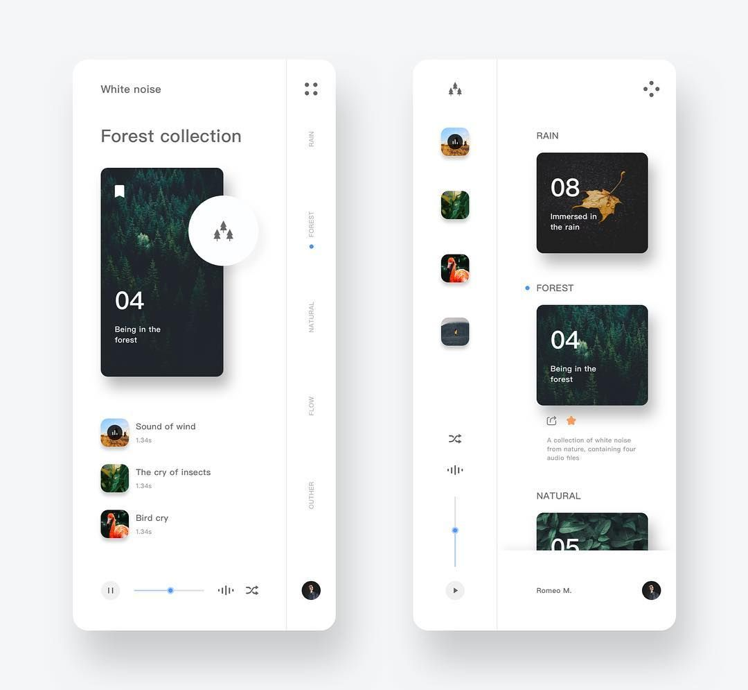 """Daily UX/UI Inspiration on Instagram: """"� Follow @ux_trends for more daily inspiration ️ Want to get featured? Use #ux_trends and tag us � Designed by: Queble . . . #ui #ux…"""""""