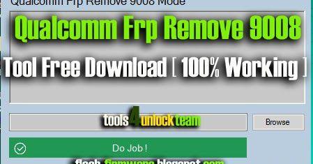 DownloadQualcomm Frp Remove 9008 Tool Feature: Qualcomm Frp Remove