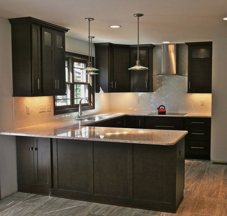 41 Dark Wood Kitchen Designs for that Classy Touch Dark Wood