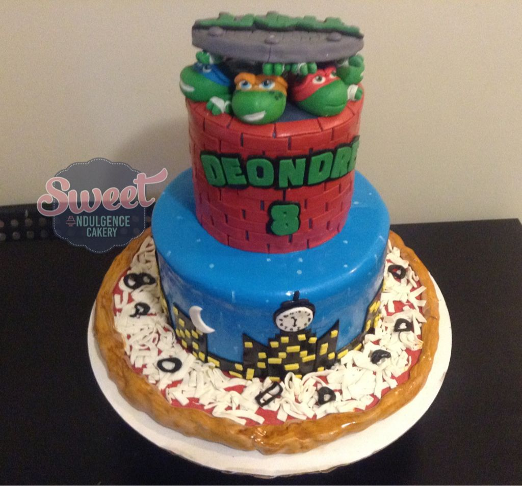 Tmnt Cake Teenage Mutant Ninja Turtles Birthday Cake Wedding Cake