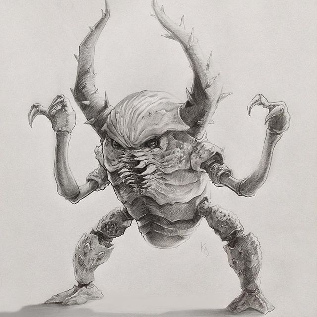 Pinsir. One of my favorite characters #pokemon #pencil # ...