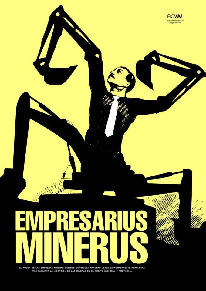Afiche Retorico Tema Mineria A Cielo Abierto Mineria A Cielo Abierto Empresas Mineras Mineria