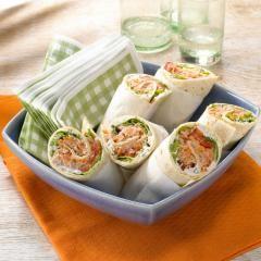 Köstlicher Thunfisch-Wrap #shrimpdip