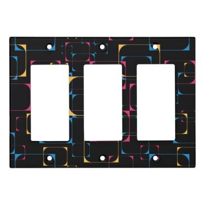 Retro Television Pop Light Switch Cover - retro gifts style cyo diy special idea