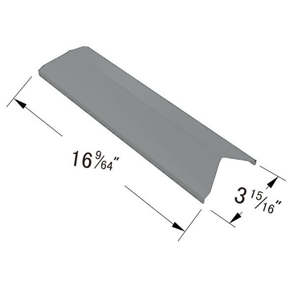 REPLACEMENT STAINLESS STEEL HEAT PLATE COMPATIBLE WITH PERFECT FLAME GAS GRILL MODELS  Fits Perfect Flame Models:  2518SL-LPG , SLG2006C , SLG2006CN , SLG2007A , SLG2007B , SLG2007BN , SLG2007D , SLG2007DN , SLG2008A  BUY NOW @ https://www.bbqtek.com/shopexd.asp?id=195&sid=4642