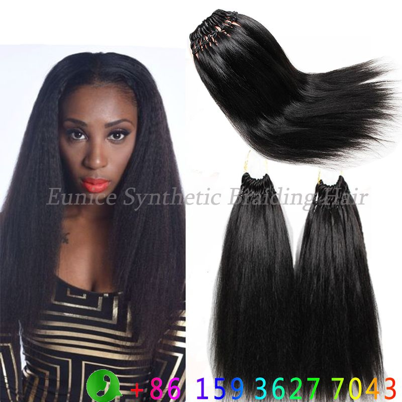 Find More Bulk Hair Information About 18inch Kinky Yaki Straight