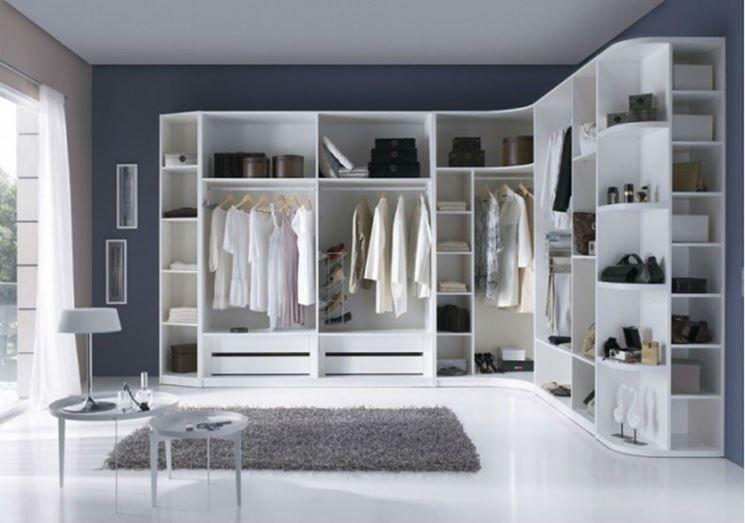 cabina armadio su misura | Rooms | Pinterest | Bathroom closet ...