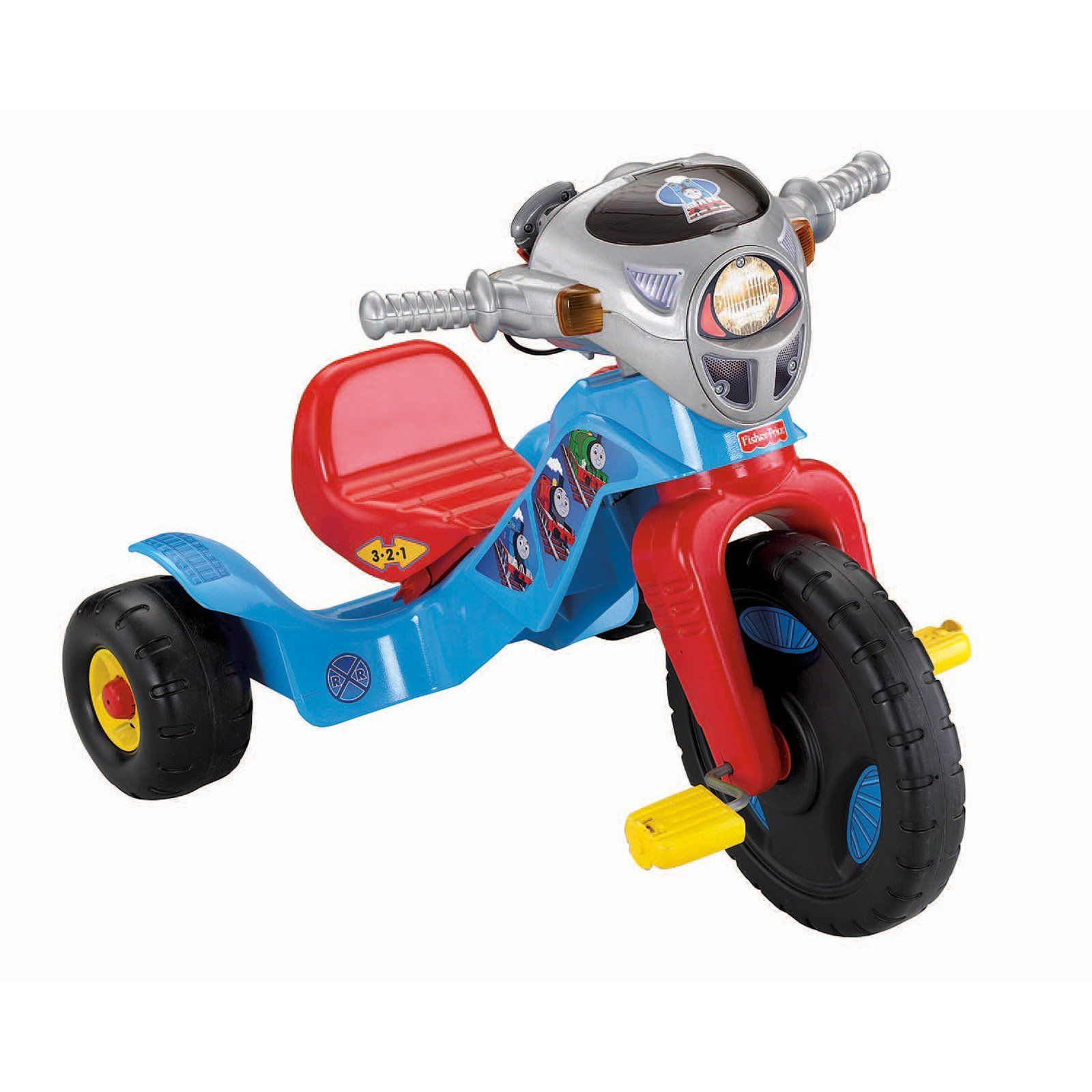 c4db9ac7a78 Fisher-Price Thomas the Train Big Wheel Riding Toy | from hayneedle.com