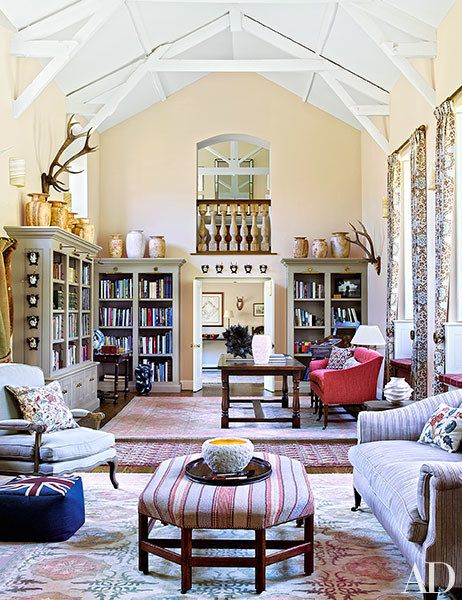 Adrian Sassoon's Classic Country Retreat in Devon, England | Architectural Digest