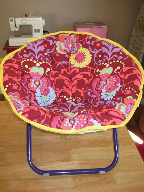 Fantastic Re Cover A Saucer Chair Chair Diy Chair Dorm Chairs Ocoug Best Dining Table And Chair Ideas Images Ocougorg