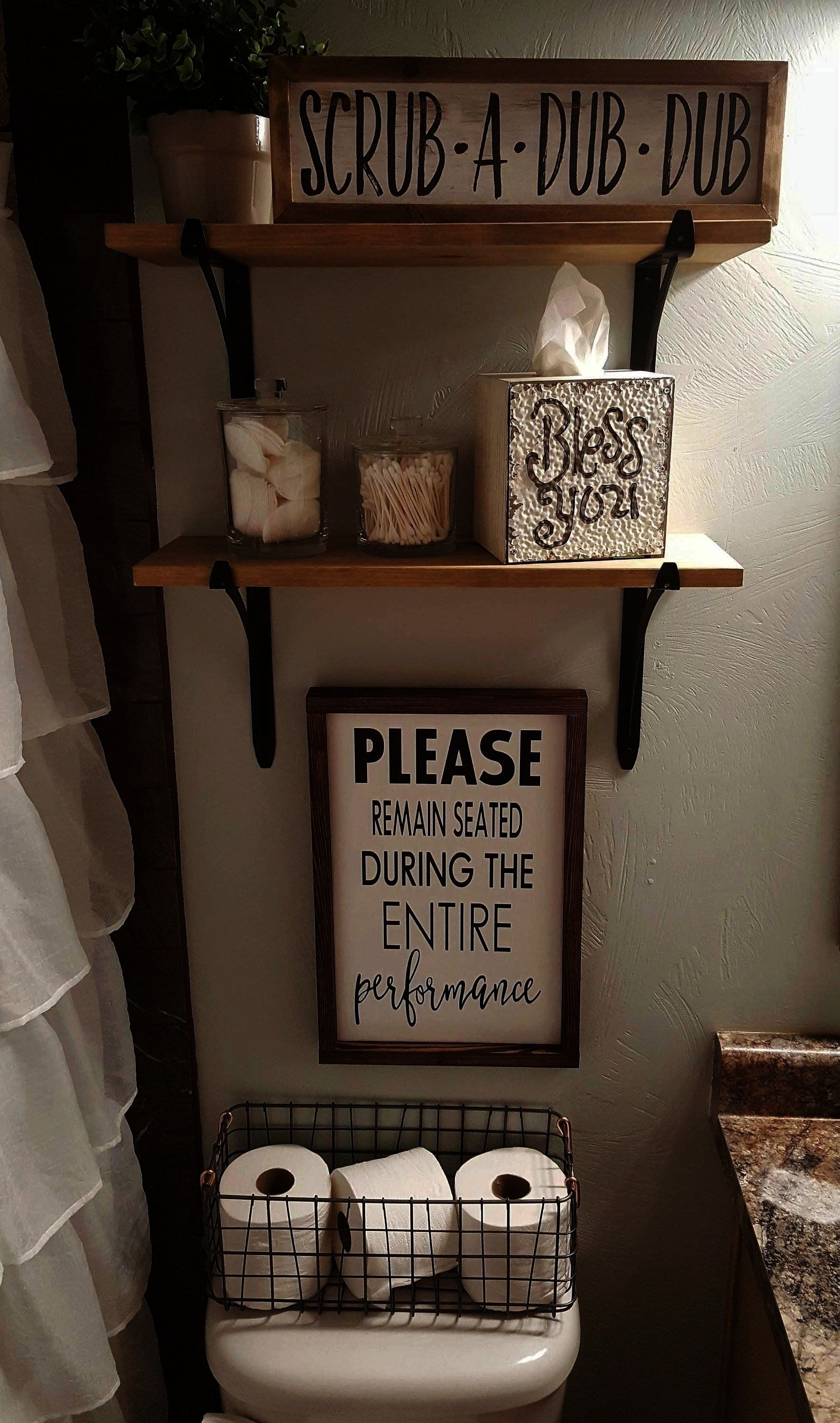 Entire Performance  Wood Signs  Bathroom Decor  Funny Bathroom Sign  Over the Toilet Sign  Farmhouse Sign Please Remain Seated During Entire Performance  Wood Signs  Bath...