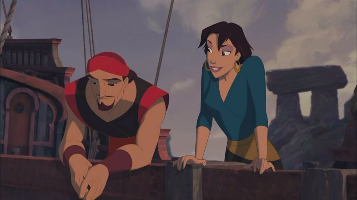 Sinbad and Marina - Sinbad:Legend of the Seven Seas (2003)