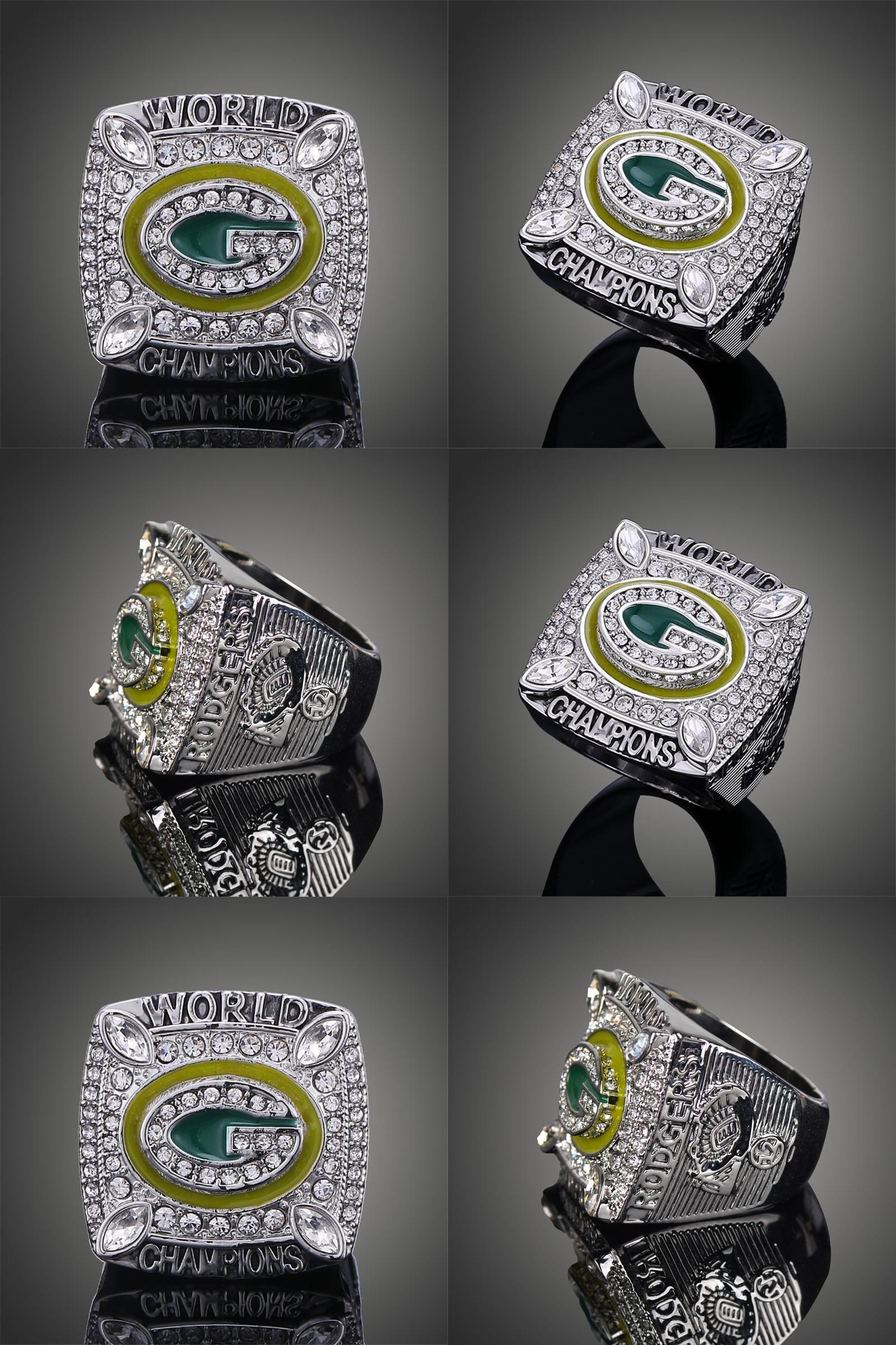 Visit To Buy Championship Rings Men Ring Replica Wisconsin Green Bay Packers Super Bowl Rings Elite Qb Aar Super Bowl Rings Rings For Men Wisconsin Green Bay