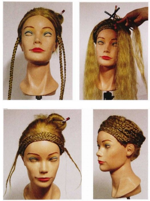 Outstanding 1000 Images About Hair Ancient On Pinterest Coiffures Short Hairstyles Gunalazisus