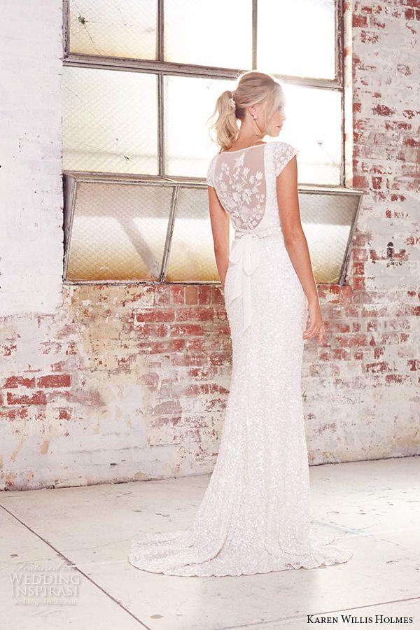 KWH by Karen Willis Holmes 2015 #Wedding Dresses | Wedding Inspirasi #bridal #weddings #weddinggown #weddingdress