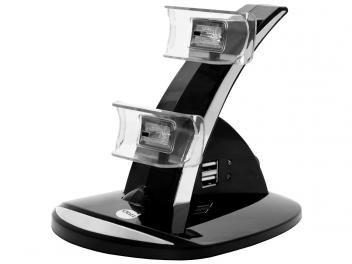 Carregador 2 em 1 para PS3 - Dazz