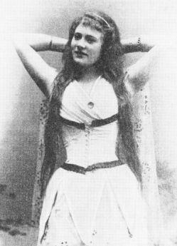 Holger Drachmanns største kærlighed sangerinden Amanda Nilsson - og kaldet Edith.