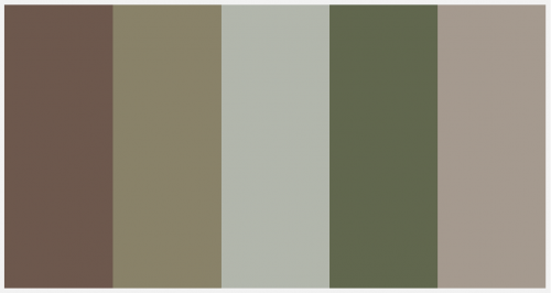I Like This Color Palette For The Two Bedrooms And