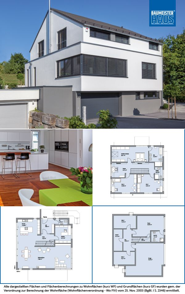 Haus Quandt Wohnen mit Weite und fenheit BAUMEISTER HAUS Kooperation e V