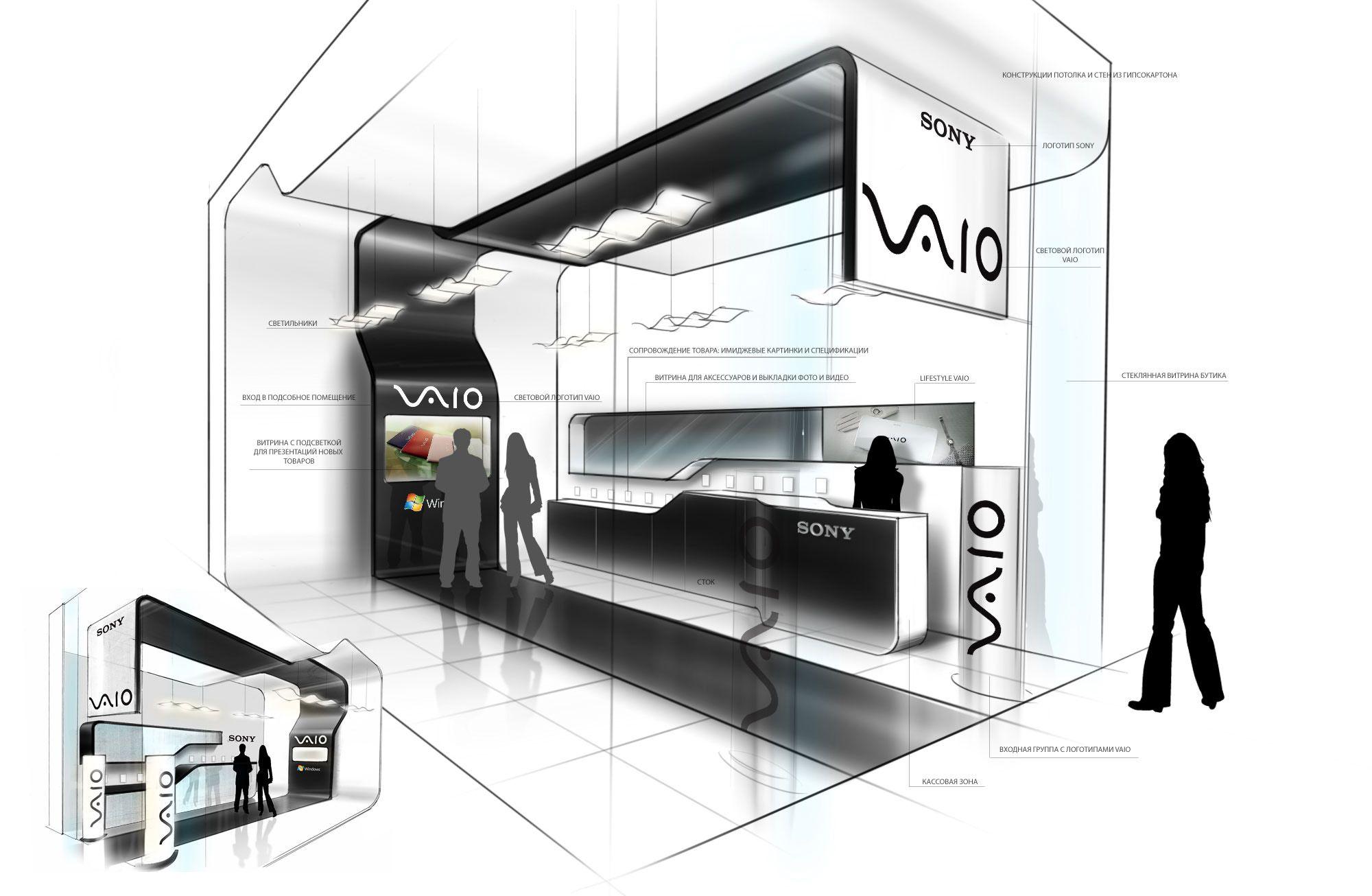 P.O.S.M. | Shop-in-shop by Stanislav Tsybulsky at Coroflot.com