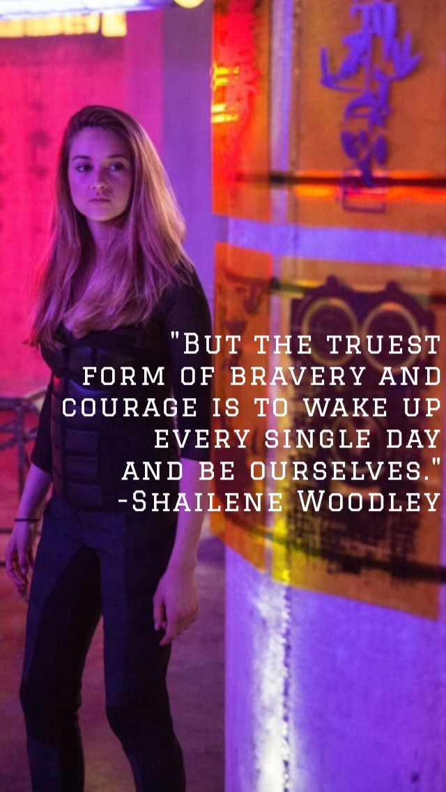 Quote from Shailene Woodley's acceptance speech at the 2014 TCAs
