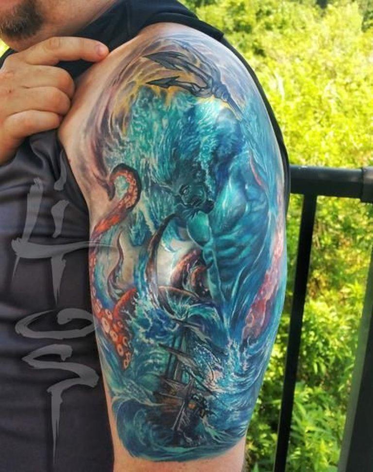 20 greek god tattoos greek god tattoos pinterest tattoo greek god tattoo and god tattoos. Black Bedroom Furniture Sets. Home Design Ideas