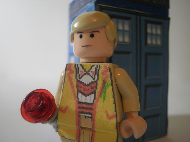 Lego Doctor Who 5th Doctor Close-up
