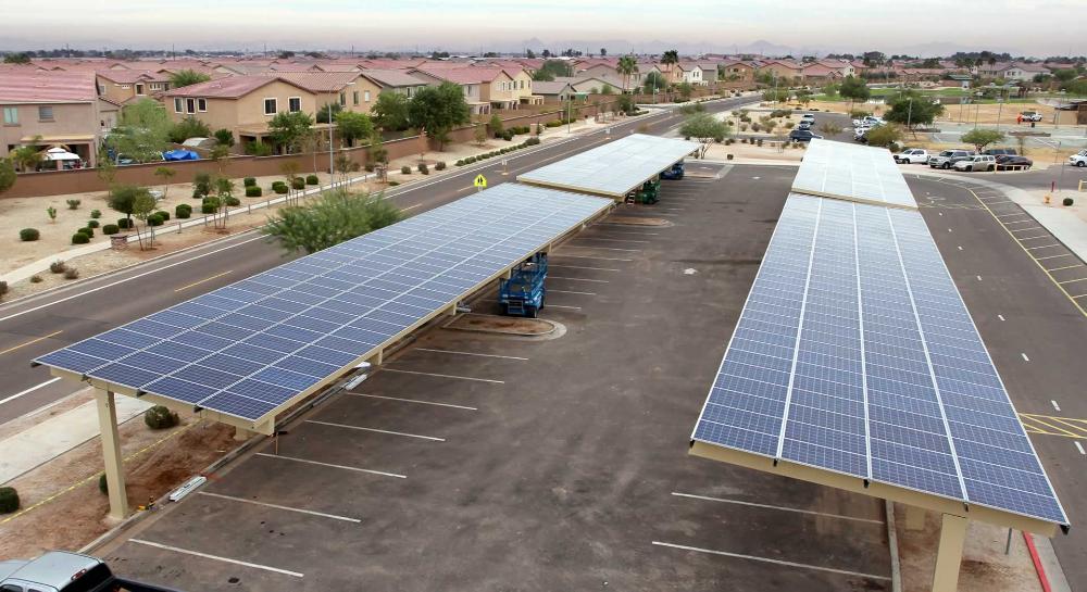 Solar Panel Carport Kit