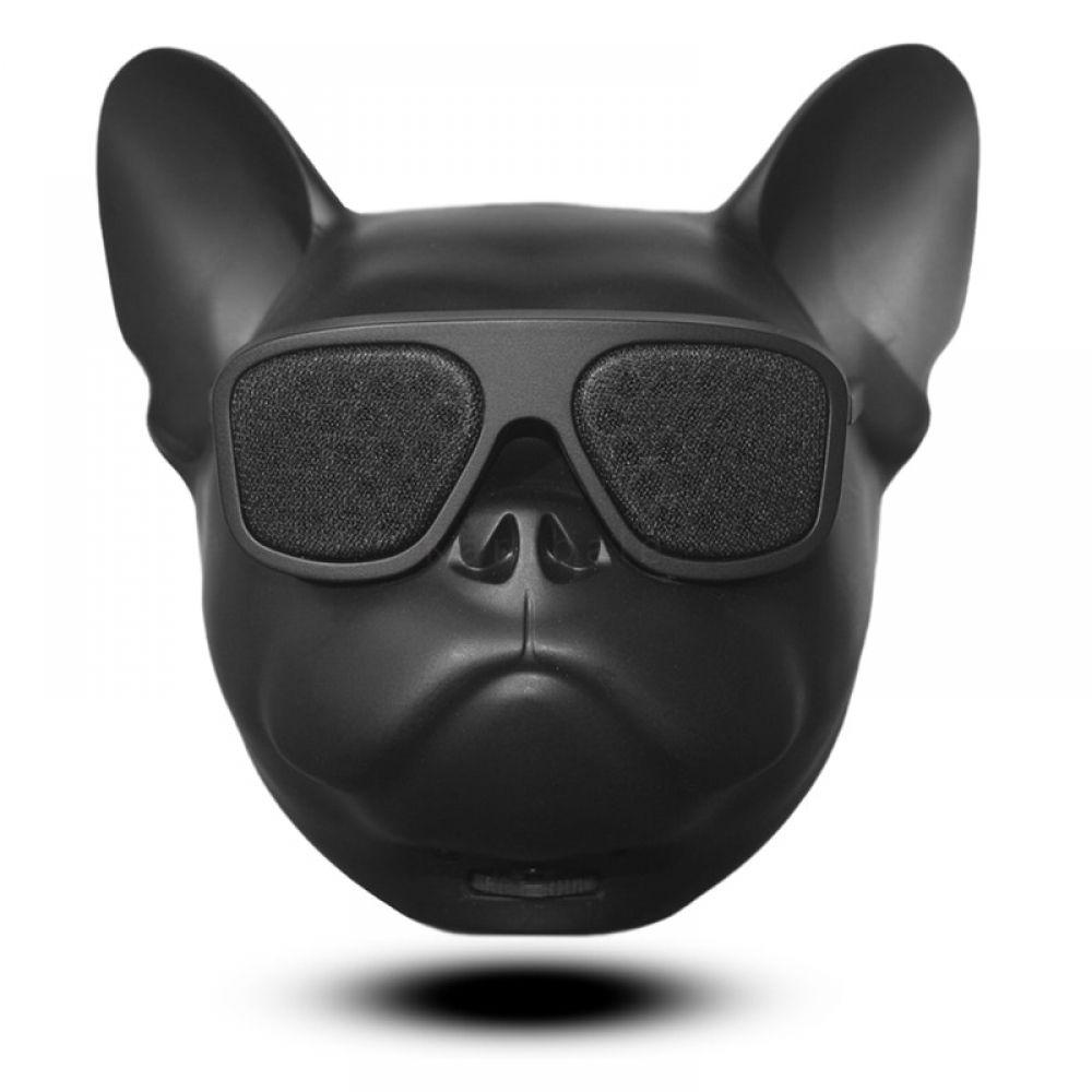 Funny Bulldog Shaped Wireless Speakers #funnybulldog